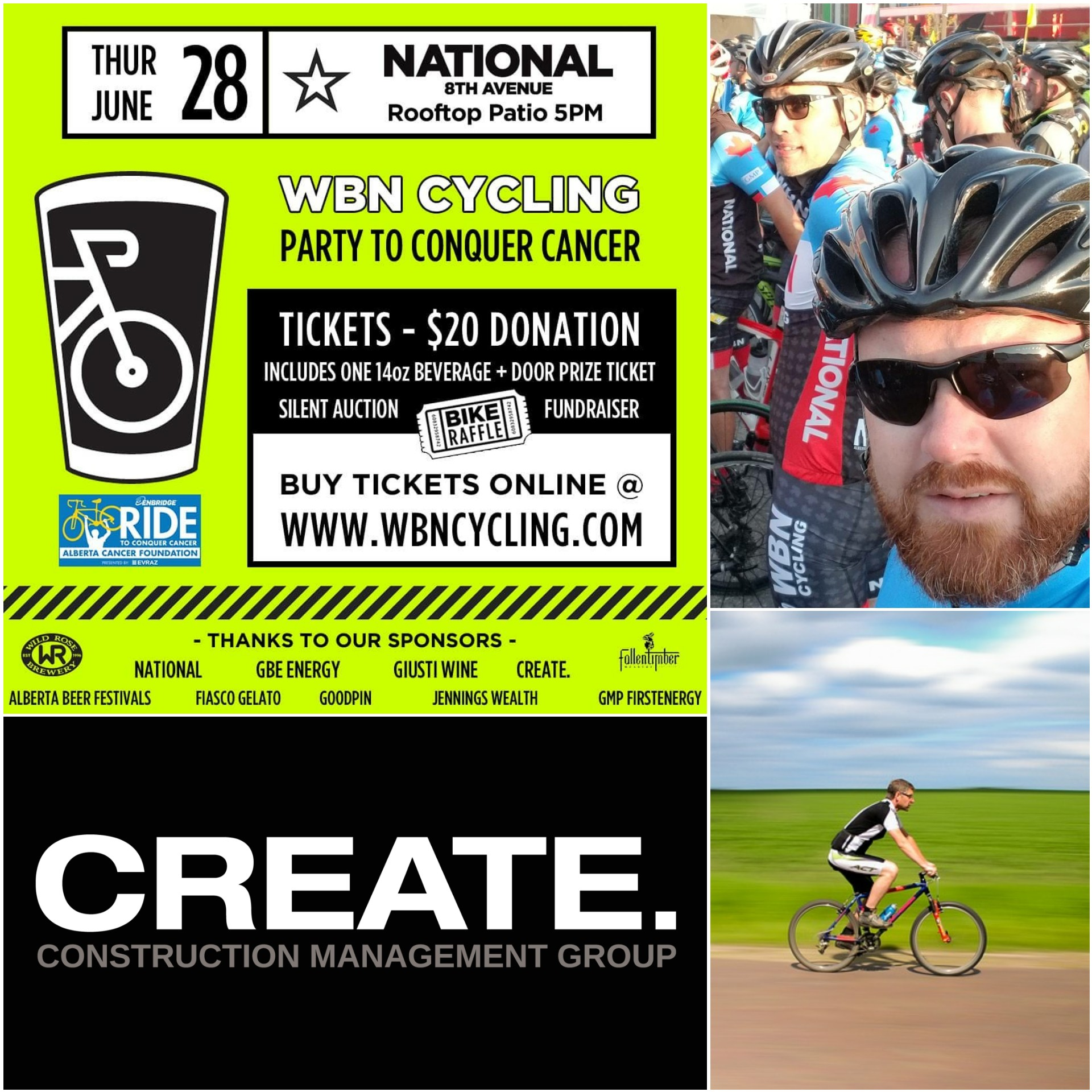 We Support WBN Cycling Fundraiser to Kick Cancer!