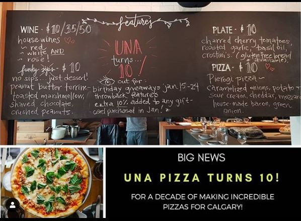 Now That's Amore! UNA Calgary's Iconic Pizza Place Updates!