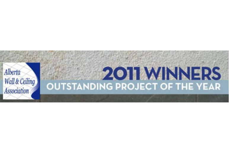 Alberta Wall & Ceiling Association Winner CREATE