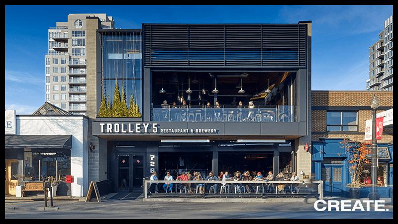 Trolley 5 Restaurant & Brewery